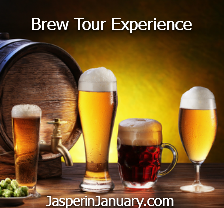 Jasper in January Brew Tour Experience
