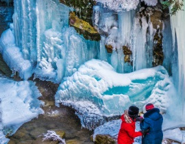 Maligne Canyon Icewalk 2021